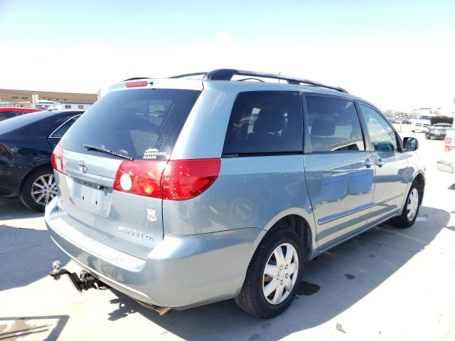 2008 TOYOTA SIENNA CE - Right Rear View