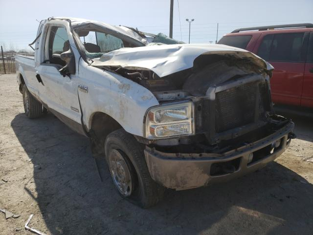 Salvage cars for sale from Copart Indianapolis, IN: 2006 Ford F250 Super