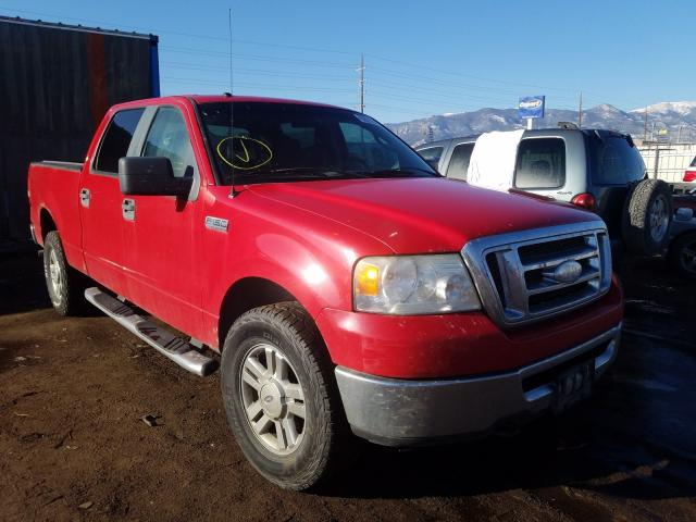 Salvage cars for sale from Copart Colorado Springs, CO: 2008 Ford F150 Super