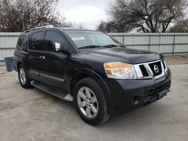 Salvage cars for sale from Copart Corpus Christi, TX: 2013 Nissan Armada PLA