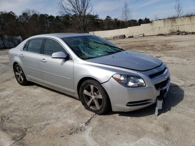 Salvage cars for sale from Copart Fairburn, GA: 2011 Chevrolet Malibu 1LT