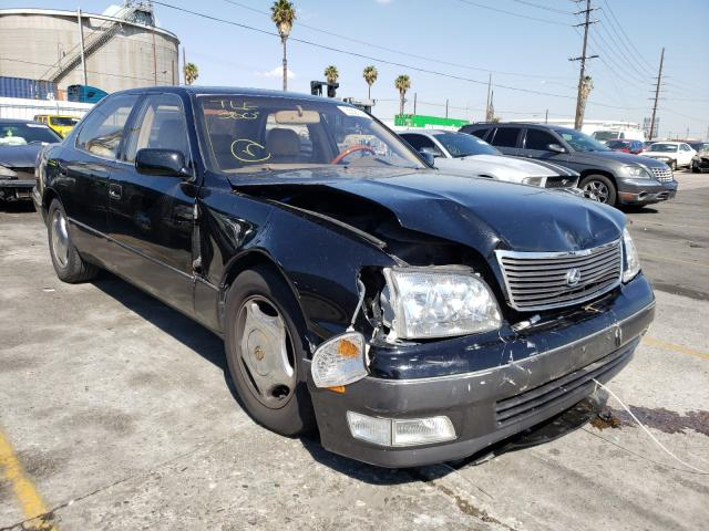 Salvage cars for sale from Copart Wilmington, CA: 1998 Lexus LS 400