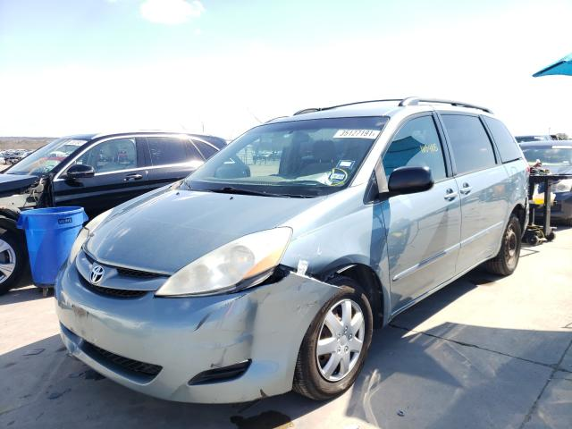 2008 TOYOTA SIENNA CE - Left Front View