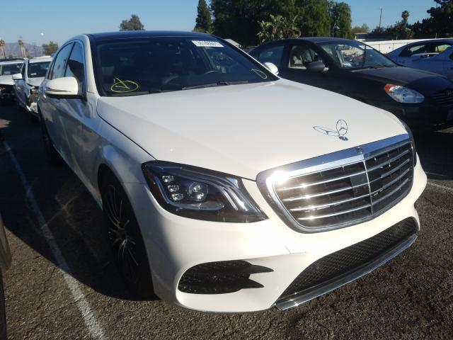 Mercedes-Benz salvage cars for sale: 2018 Mercedes-Benz S 560