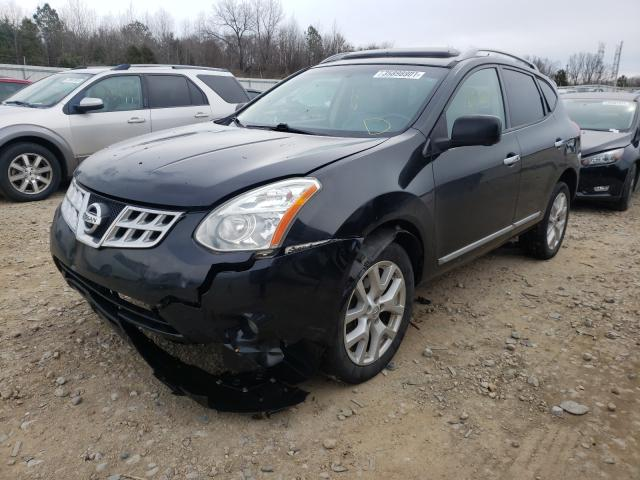 2012 NISSAN ROGUE S - Left Front View