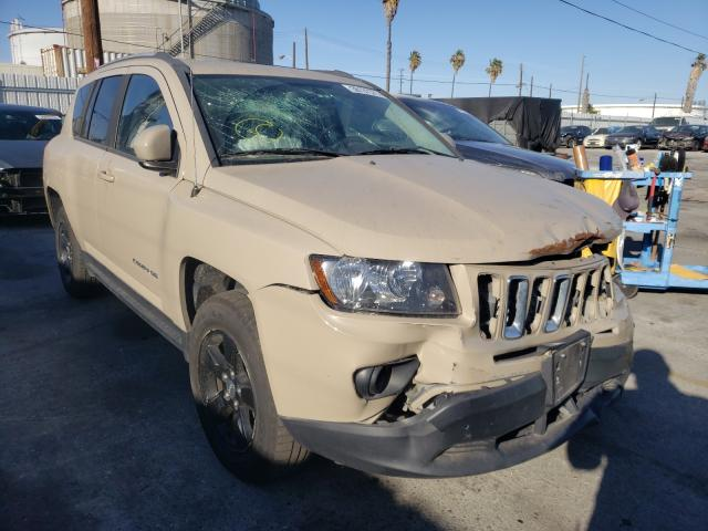 Salvage cars for sale from Copart Wilmington, CA: 2017 Jeep Compass LA