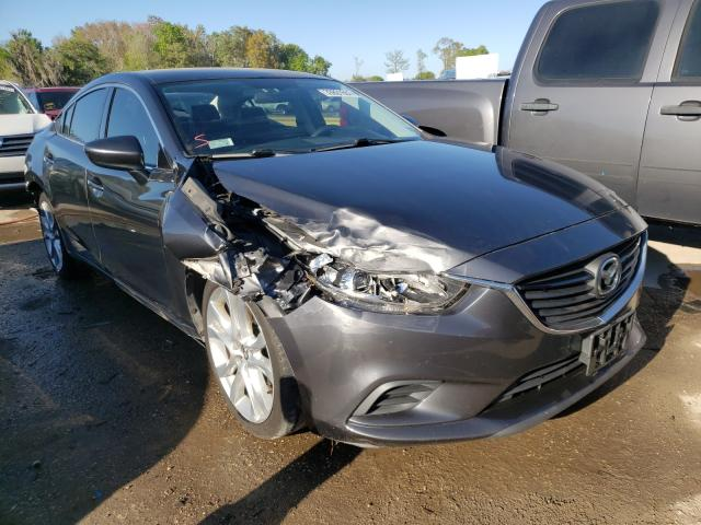 Salvage cars for sale from Copart Riverview, FL: 2014 Mazda 6 Touring