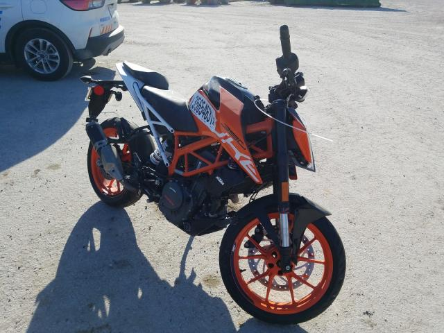 Salvage cars for sale from Copart Houston, TX: 2020 KTM 390 Duke