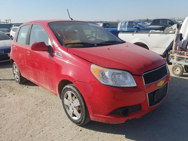 Salvage cars for sale from Copart Kansas City, KS: 2011 Chevrolet Aveo LS