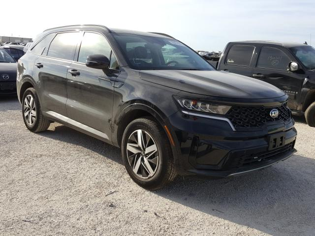 KIA Sorento S salvage cars for sale: 2021 KIA Sorento S