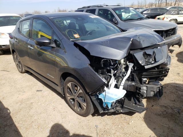 Salvage cars for sale from Copart Bridgeton, MO: 2019 Nissan Leaf S PLU