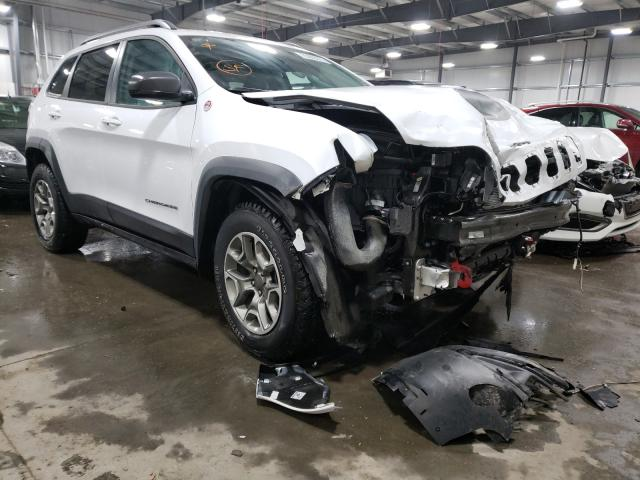Salvage cars for sale from Copart Ham Lake, MN: 2020 Jeep Cherokee T