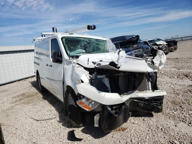 Salvage cars for sale from Copart Temple, TX: 2019 Nissan NV 2500 S