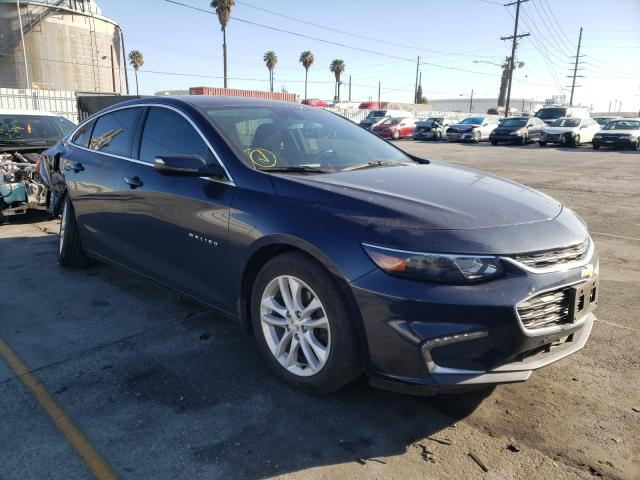 Salvage cars for sale from Copart Wilmington, CA: 2016 Chevrolet Malibu Hybrid