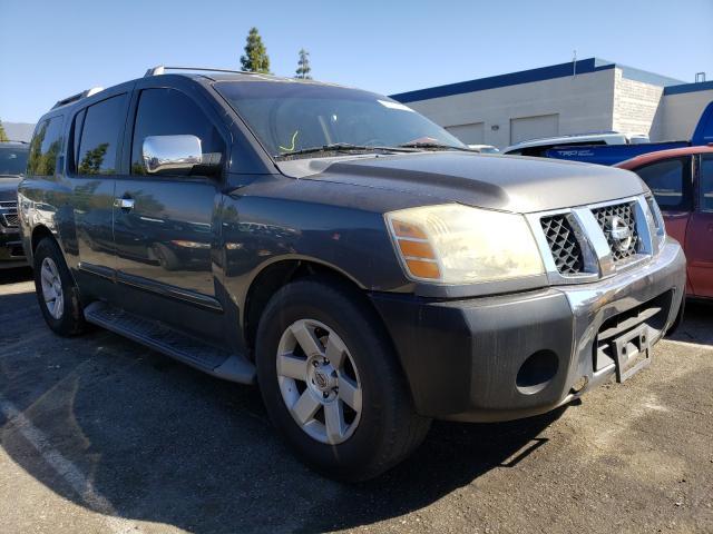 Vehiculos salvage en venta de Copart Rancho Cucamonga, CA: 2004 Nissan Armada