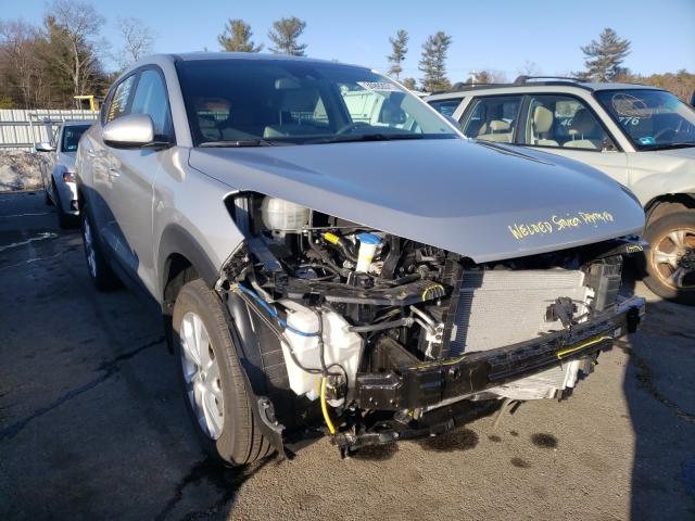 Salvage cars for sale from Copart Exeter, RI: 2020 Hyundai Tucson SE