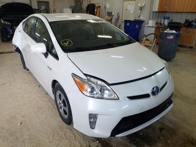 Vehiculos salvage en venta de Copart Columbia, MO: 2012 Toyota Prius