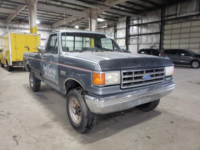 Salvage cars for sale from Copart Woodburn, OR: 1991 Ford F250