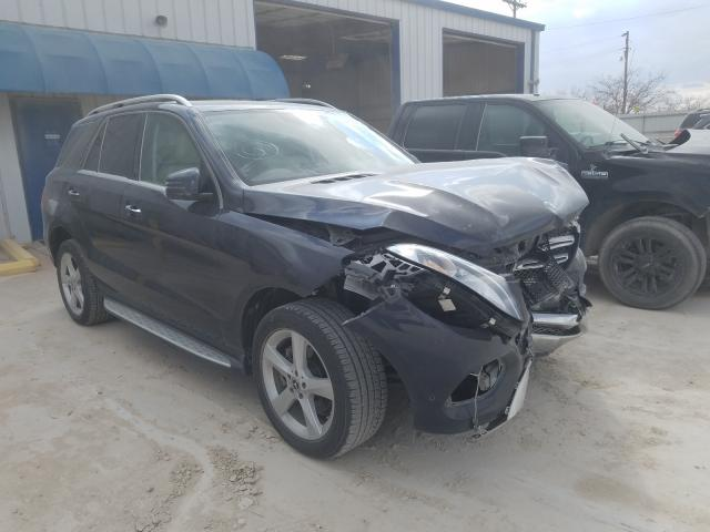 Mercedes-Benz salvage cars for sale: 2018 Mercedes-Benz GLE 350