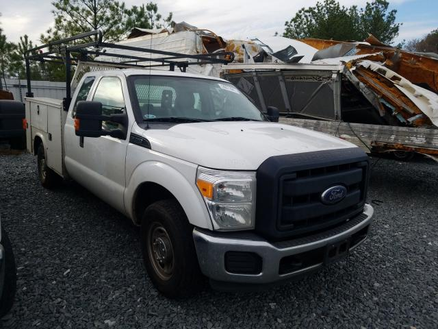 Salvage cars for sale from Copart Byron, GA: 2015 Ford F250 Super