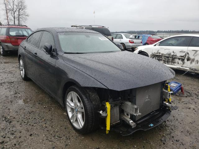 Salvage cars for sale from Copart Arlington, WA: 2018 BMW 440XI Gran Coupe