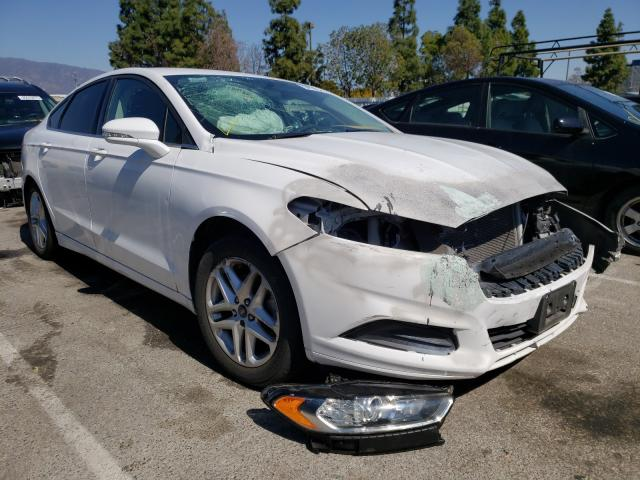 Salvage cars for sale from Copart Rancho Cucamonga, CA: 2016 Ford Fusion SE