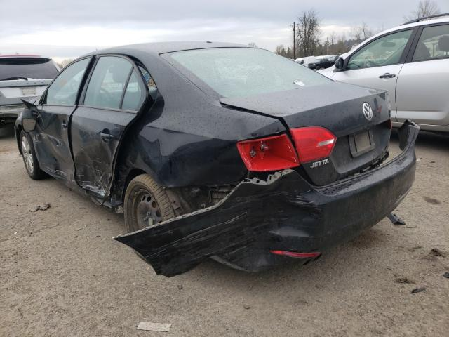 2012 VOLKSWAGEN JETTA BASE - Right Front View