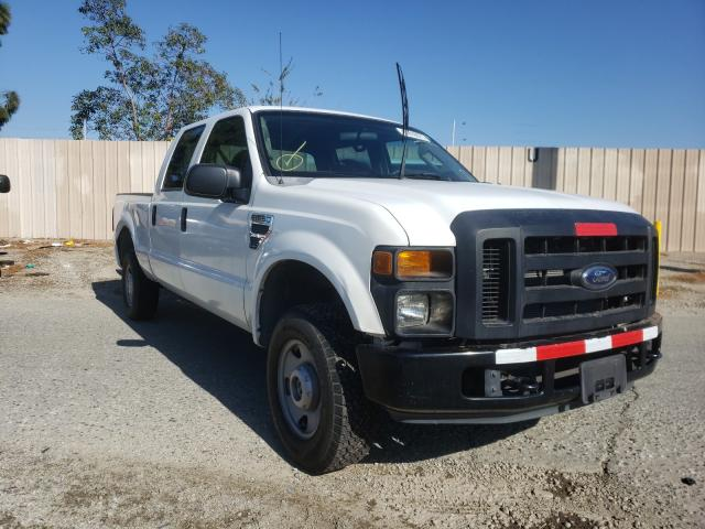Salvage cars for sale from Copart Rancho Cucamonga, CA: 2008 Ford F250 Super