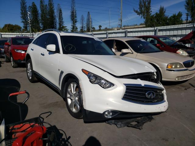 Infiniti QX70 salvage cars for sale: 2014 Infiniti QX70