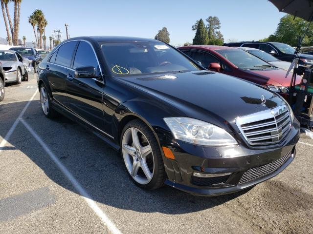 Mercedes-Benz salvage cars for sale: 2012 Mercedes-Benz S 350 Blue