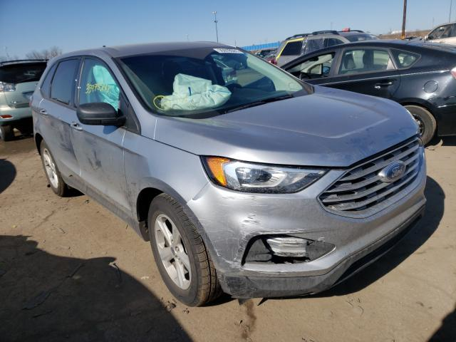 Salvage cars for sale from Copart Woodhaven, MI: 2020 Ford Edge