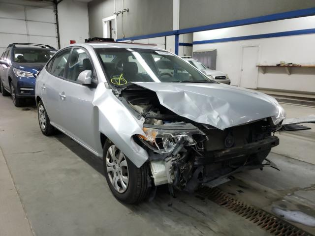 Salvage cars for sale from Copart Pasco, WA: 2010 Hyundai Elantra BL