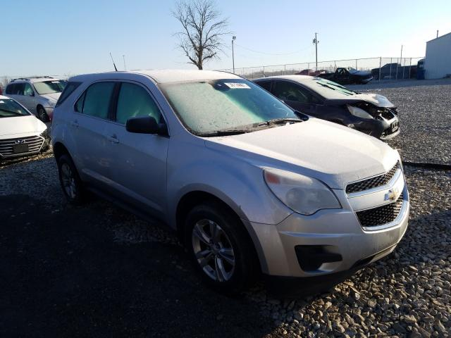 Salvage cars for sale from Copart Cicero, IN: 2012 Chevrolet Equinox LS