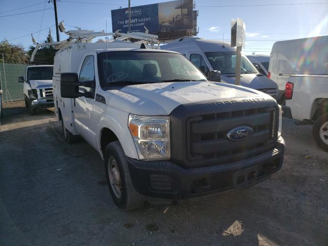 Salvage cars for sale from Copart West Palm Beach, FL: 2013 Ford F350 Super