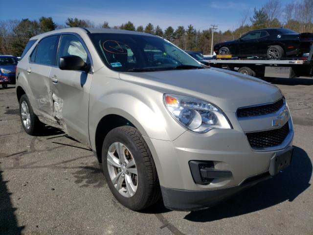 Salvage cars for sale from Copart Exeter, RI: 2014 Chevrolet Equinox LS