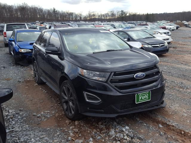 Vehiculos salvage en venta de Copart York Haven, PA: 2017 Ford Edge Sport