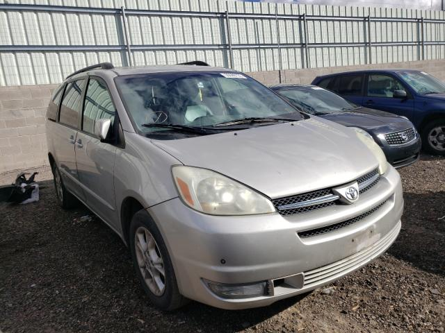 Salvage cars for sale from Copart Albuquerque, NM: 2004 Toyota Sienna