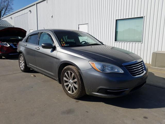Salvage cars for sale from Copart Sacramento, CA: 2012 Chrysler 200 Touring