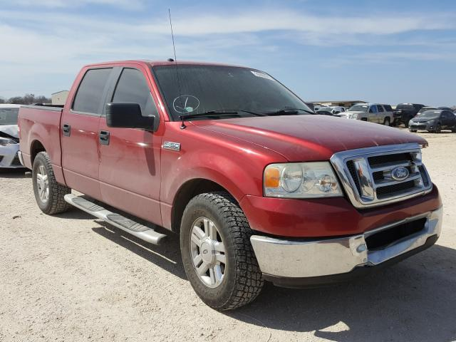 Salvage cars for sale from Copart San Antonio, TX: 2008 Ford F150 Super