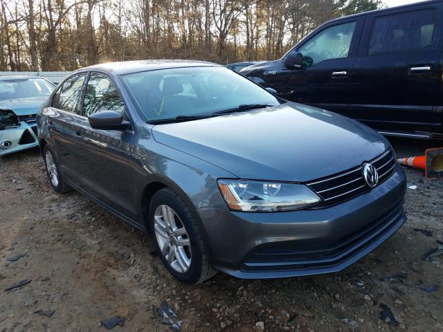 Salvage cars for sale from Copart Austell, GA: 2017 Volkswagen Jetta S