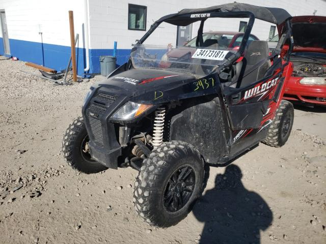 Salvage cars for sale from Copart Farr West, UT: 2017 Arctic Cat HDX700