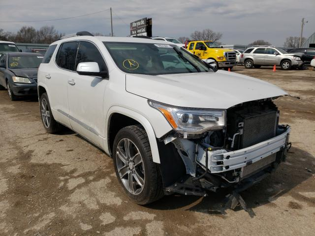 Salvage cars for sale from Copart Wichita, KS: 2017 GMC Acadia DEN