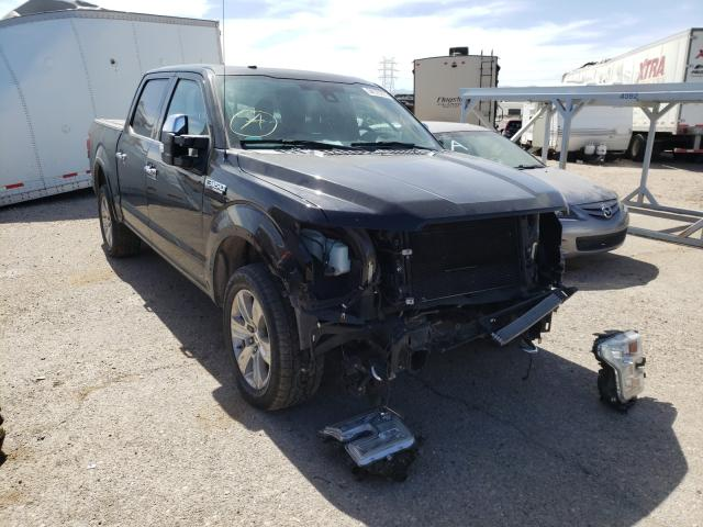 Salvage cars for sale from Copart Tucson, AZ: 2017 Ford F150 Super