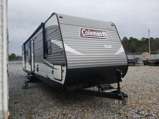 Coleman salvage cars for sale: 2019 Coleman LNTRN337BH