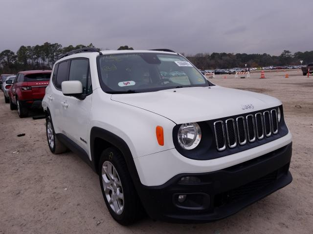 Salvage cars for sale from Copart Houston, TX: 2015 Jeep Renegade L
