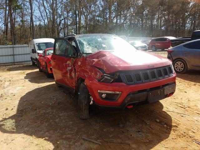 Salvage cars for sale from Copart Austell, GA: 2020 Jeep Compass TR