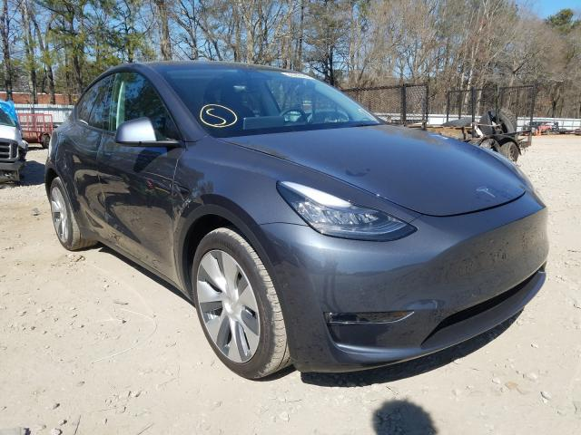 Vehiculos salvage en venta de Copart Austell, GA: 2021 Tesla Model Y