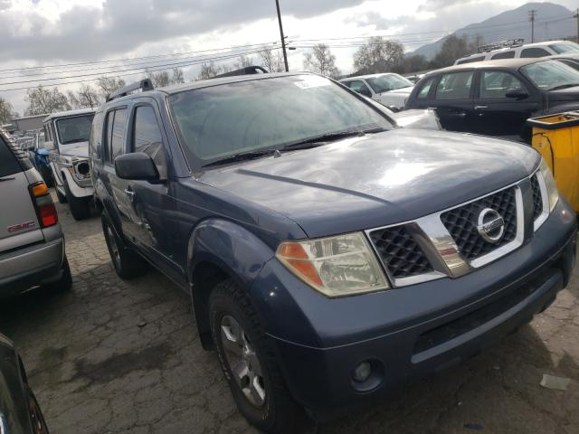 Salvage cars for sale from Copart Colton, CA: 2006 Nissan Pathfinder