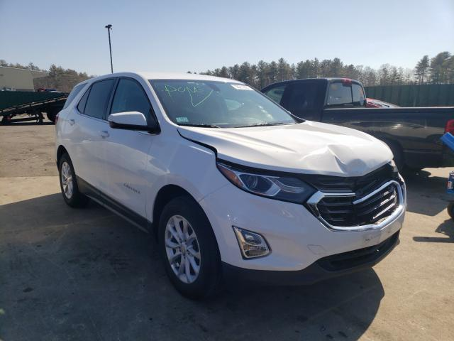 Salvage cars for sale from Copart Exeter, RI: 2018 Chevrolet Equinox LT