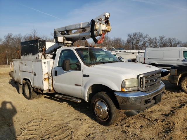 Salvage cars for sale from Copart Columbia, MO: 2004 Ford F550 Super